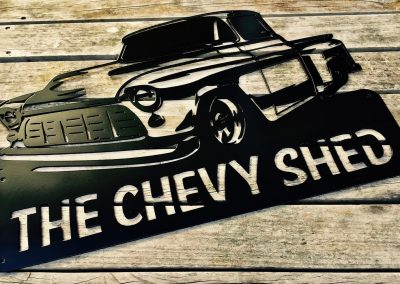 Chevy Pick up The Chevy Shed