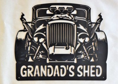 Hot Rod Grandad's Shed